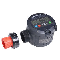 Nutating disc flow meter / for chemicals / for acids / digital