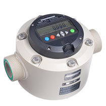 Nutating disc flow meter / for acids / for chemicals / high-accuracy