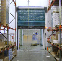 Fold-up doors / for cold storage / indoor / automatic