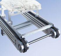Chain conveyor / horizontal / transport