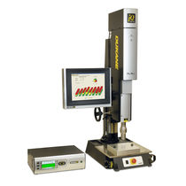 Ultrasonic welding system / AC / servo-driven / plastic