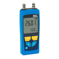 Pressure meter / electronic / for gas / air
