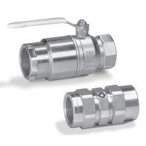 Manual valve / ball / shut-off / for gas