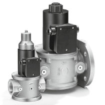 Gas solenoid valve / air / flange / threaded