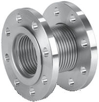 Round bellows / stainless steel / for machines