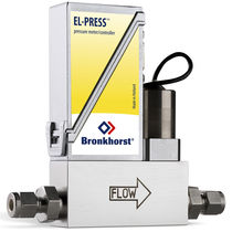 Gas pressure regulator / single-stage / membrane / digital