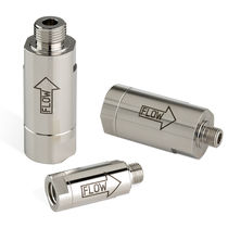 Gas filter / cartridge / in-line / particulate