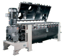 Ribbon mixer / batch / for liquids / horizontal