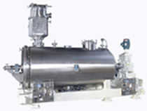 Fluidized bed dryer / continuous / horizontal / paddle
