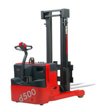 Electric stacker truck / walk-behind / straddle / explosion-proof