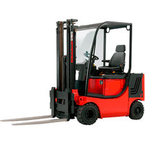 Electric forklift truck / ride-on / 4-wheel / explosion-proof