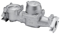 Turbine flow meter / for water / flange / industrial