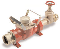 Turbine flow meter / for water / wall-mounted