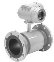 Electromagnetic flow meter / for water / in-line / intrinsically safe