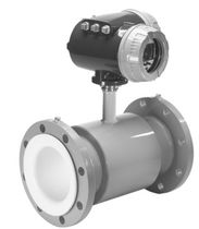 Electromagnetic flow meter / for water / flange / intrinsically safe