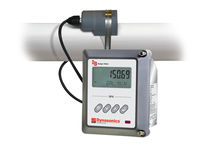 Ultrasonic flow meter / Doppler ultrasonic / for liquids / with LCD display