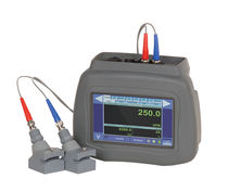 Ultrasonic flow meter / Doppler ultrasonic / for liquids / portable