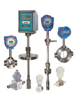 Ultrasonic flow meter / vortex / for water