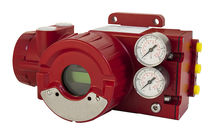 Pneumatic valve positioner / rotary / linear / analog