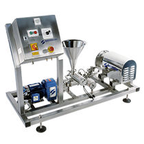 Dynamic mixer / batch / powder / laboratory