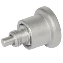 Stainless steel indexing plunger