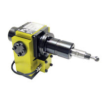 Milling spindle / deburring / air-driven / for robots