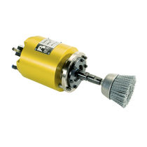 Deburring spindle / brushing / surface treatment / air-driven