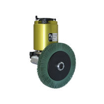 Deburring spindle / brushing / air-driven / radial