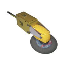Pneumatic cutt off grinder / for robots / angle