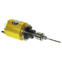 Deburring spindle / air-driven / radial