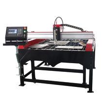 Metal cutting machine / for aluminum / SS / plasma