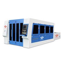 Metal cutting machine / fiber laser / CNC / for metal fabrication