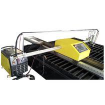 Metal cutting machine / stainless steel / flame / sheet metal