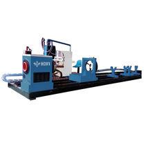 Metal cutting machine / plasma / for tubes / CNC