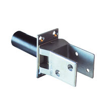 Spring hinge / 90° / zinc-coated steel / double-acting