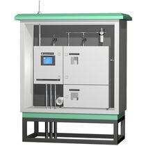 Gas analyzer / spectrum / for integration / process