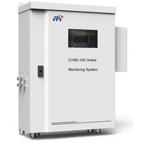 Concentration monitoring system / measurement / for gas / emissions