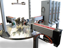Multi-parameter testing machine / horizontal / biaxial / servo-mechanical