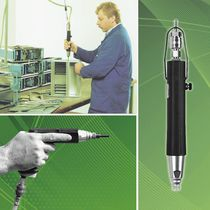 Straight model air screwdriver / pistol model