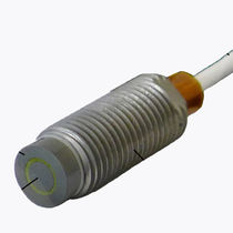 Linear displacement sensor / non-contact / capacitive / precision