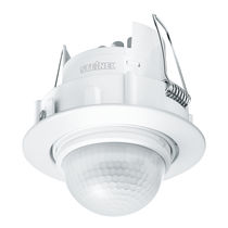 Motion detector / passive infrared / compact / ceiling-mounted