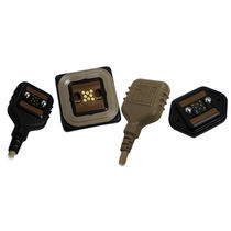 Data connector / rectangular / blind mate / self-centering