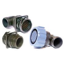 Electrical power supply connector / circular / bayonet / flange