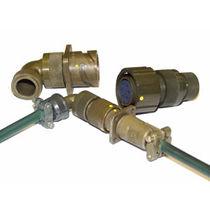 Electrical power supply connector / circular / bayonet / multipolar