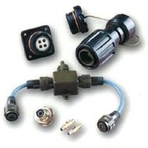Data connector / quadrax / twinaxial / multi coaxial