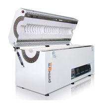 Analysis furnace / tubular / electric resistance / vacuum