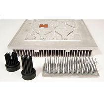 Aluminum heat sink / with high density ratio