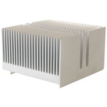 Aluminum heat sink / extruded / power / skived fin