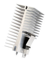 Heat sink with clip system