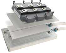 Cold plate with extended surface